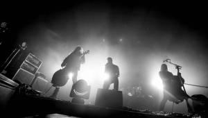 Apocalyptica předvedla cellovou jízdu ve Foru Karlín