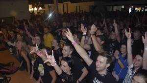 Horkýže Slíže otevřeli nový sál v plzeňské Šeříkovce
