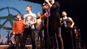 Support Lesbiens pokřtili v Akropoli svou novou etapu