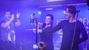 Marek Ztracený pokřtil desku Pády, byli u toho Michal Malátný a Marta Jandová