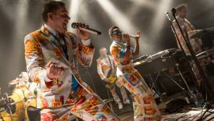 Do třetice všeho dobrého! S Monkey Business hráli v Lucerna Music Baru Ewa Farna i Dan Bárta