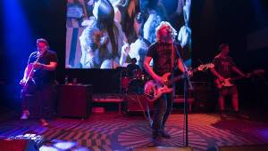 Vypsaná Fixa křtila v Lucerna Music Baru nový klip a rozjela vánoční party