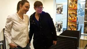 Barbora Poláková není Nafrněná, podepsala desku a pozvala na Žebřík