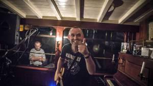 Circus Ponorka vzal svoje mašinky na loď