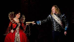 Angelika se vrátila v novém kabátě: Josef Vojtek a Michaela Gemrotová v hlavních rolích zaplnili divadlo Broadway