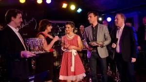 Magdaléna Urbanová křtila první autorské CD s kmotry Romanem Vojtkem a Marií Rottrovou