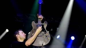 Simple Plan v Praze: Pop-punkový nářez z Kanady ještě jednou na fotkách