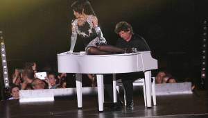 Lucie Bílá jako česká Madonna: v Bratislavě postavila obří scénu