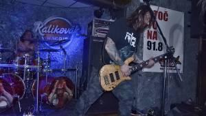 Plzeňský Kalikovák zažil večírek death metalu: hráli Fata Morgana, Necrofiles a Tortharry