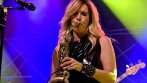 Candy Dulfer v Praze: svěží saxofonová jízda i vzpomínky na Prince