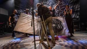Křest Prague Conspiracy: V Lucerna Music Baru se předvedli i Imodium, Lukemo a Fast Food Orchestra