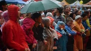 Okoř se šťávou: Skvělá atmosféra vládla nejen na pódiu, ale i pod ním