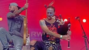 Bohnice obsadily hudební hvězdy: Na Mezi Ploty vystoupili Divokej Bill, Pipes And Pints a další