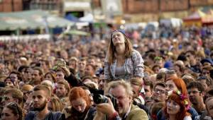 Na Colours Of Ostrava se diváci bavili i druhý den. Hráli Of Monsters And Men, Aurora i Anohni