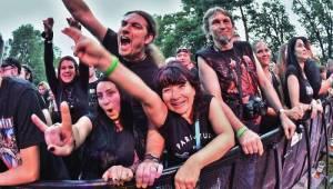 Moravským Krumlovem se nesla metalová řežba německých Helloween