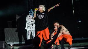 Die Antwoord vyprodali Žluté lázně, přijeli provokovat i bavit