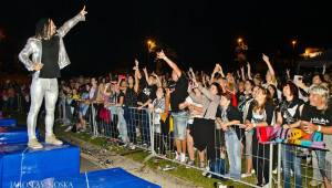 Mandrage v Litvínově: Open air zastávka před podzimní částí turné