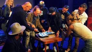 Narozeninová oslava iREPORTu: Kytarový dort a jedna velká párty