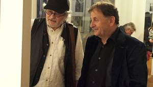 V Lucerně blahopřálo Václavu Havlovi osmdesát gratulantů