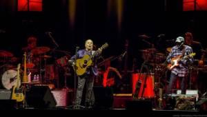 Paul Simon odstartoval turné koncertem v Praze