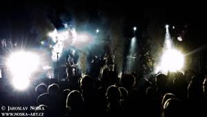 Mandrage v Kadani: Vyprodané Orfeum zažilo hru světel a stínů