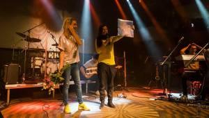 Platinová Barbora Poláková ve vyprodaném Lucerna Music Baru bavila úplně všechny