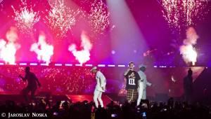 Justin Bieber v Praze: Vyprodanou O2 arenou zněly hity z alba Purpose