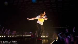 Kryštof v Chomutově: Plná sportovní hala, známé hity a skvělá atmosféra