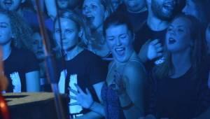 Wohnout slavil Sladkých 20 také v Plzni, předkapelou byli Dirty Blondes