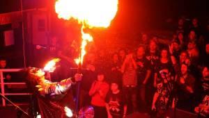 Maďarští Kissáci plivali v Kroměříži oheň