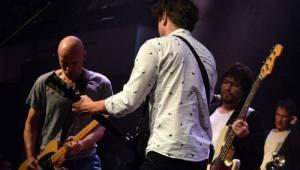 Chinaski dostali Slavíky na koncertě, mezi svými fanoušky