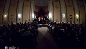 Speciální akustický koncert teepee a Piano rozezněl Husův chrám v Plzni
