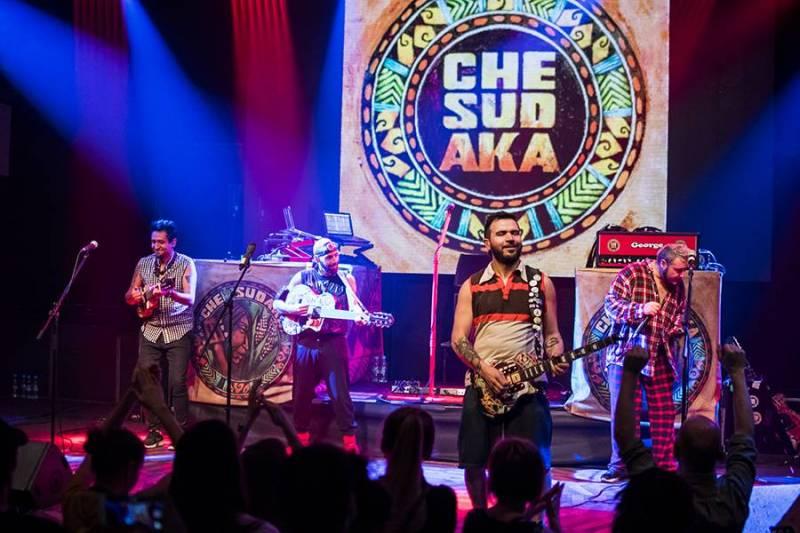 Barcelonská partička Che Sudaka roztancovala pražský Lucerna Music Bar