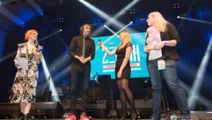 Tomáš Klus, Ewa Farna, Aneta Langerová a další se v Plzni radovali ze zisku cen Žebřík
