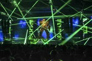 Let It Roll On Tour: Ostravská Karolina mohutně zaduněla pod nohama obřího robota. Vystoupili High Contrast nebo State Of Mind