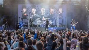 Škwor a Dymytry obstarali v Plzni pekelný večírek ve znamení rocku a metalu