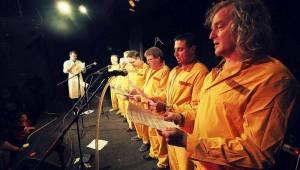 Buřtovi z Walda Gangu k padesátinám gratulovali Vláďa Šafránek, Abraxas i dvojník Karla Gotta