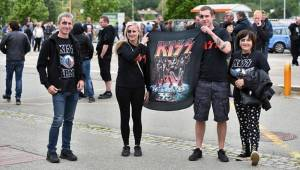 Kiss se svojí show převálcovali Brno