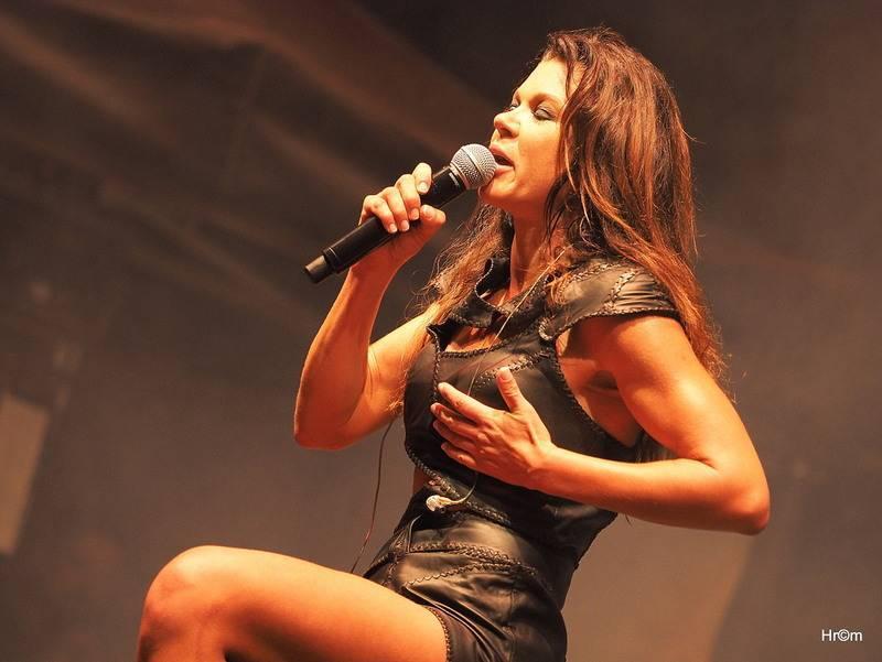 Závěr Sázavafestu patřil ženám, z Ukrajiny přijela Ruslana, zazpívaly i Dara Rolins nebo Barbora Poláková