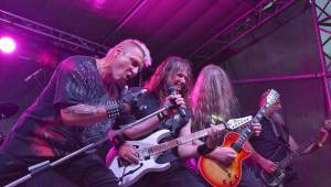 Knížecí metal fest ovládl Plasy, zahráli Arakain, Doga nebo Fata Morgana