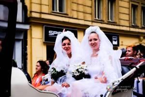 Prague Pride vyvrcholila duhovým průvodem a festivalem na Letné, vystoupila rapperka SharkaSs
