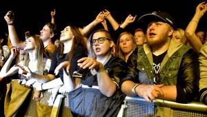 Papa Roach řádili v Malé sportovní hale v Praze