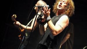 Nazareth zpívali hity Love Hurts nebo Dream On pražské Lucerně