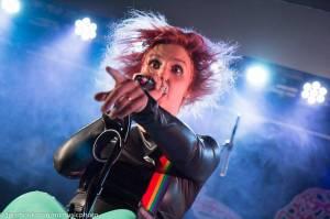 Mucha v Rock Café zpívala své peprné hity