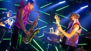 Mydy Rabycad roztančili Lucerna Music Bar a pokřtili novou desku