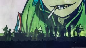 Gorillaz představili v Praze své nové album Humanz