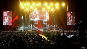 Olympic oslavil 55 let v O2 areně se spoustou hostů: Přišli Richard Krajčo, Petra Janů i Michal Malátný
