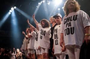 Monkey Business odehráli svou show v Lucerna Music Baru na Maximum Power