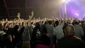 Horkýže Slíže oslavili v Malé sportovní hale 25 let, popřáli jim zakázanÝovoce i Mean Messiah