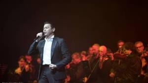Sarah Brightman vystoupila v rámci vánočního turné s Gregorian v pražské Tipsport aréně